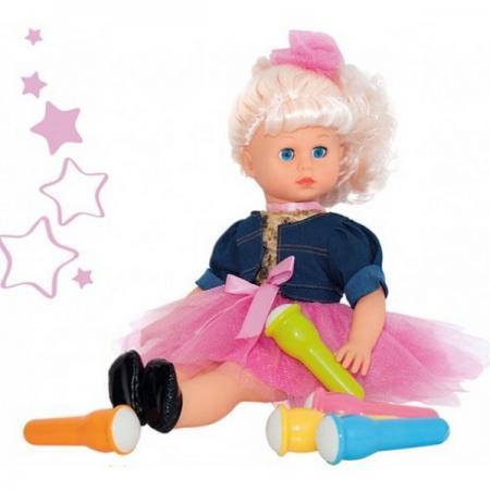 Интерактивная кукла караоке